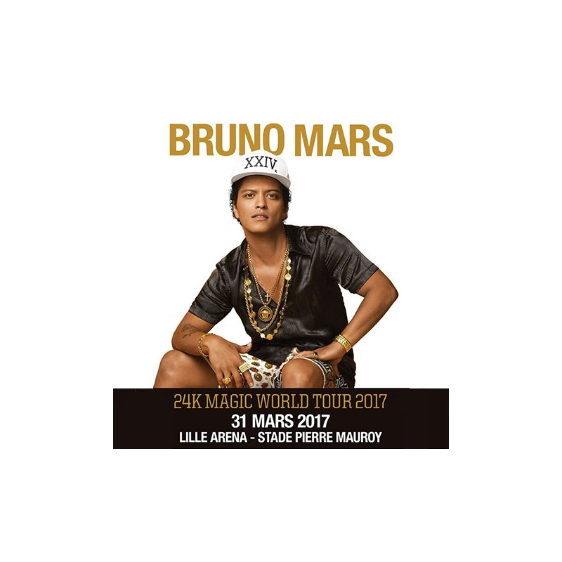 tickets bruno mars a lille